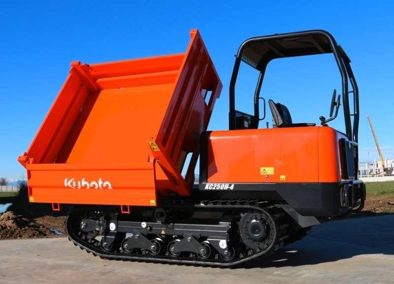 kubota kc 250 dumper